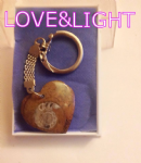 AMMONITE KEY-RING (FOSSIL) K-01